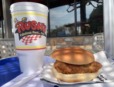 Rush's Chicken Sandwich