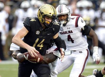 South Carolina Vanderbilt Football