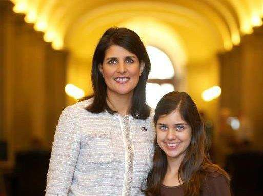 Intrigue over Haley daughter story