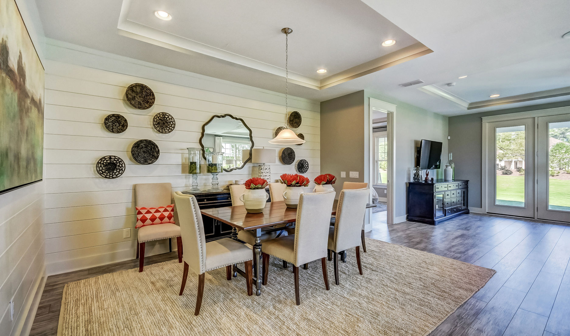 From Garages To Kitchens, Open Spaces Still Reign In Home Design
