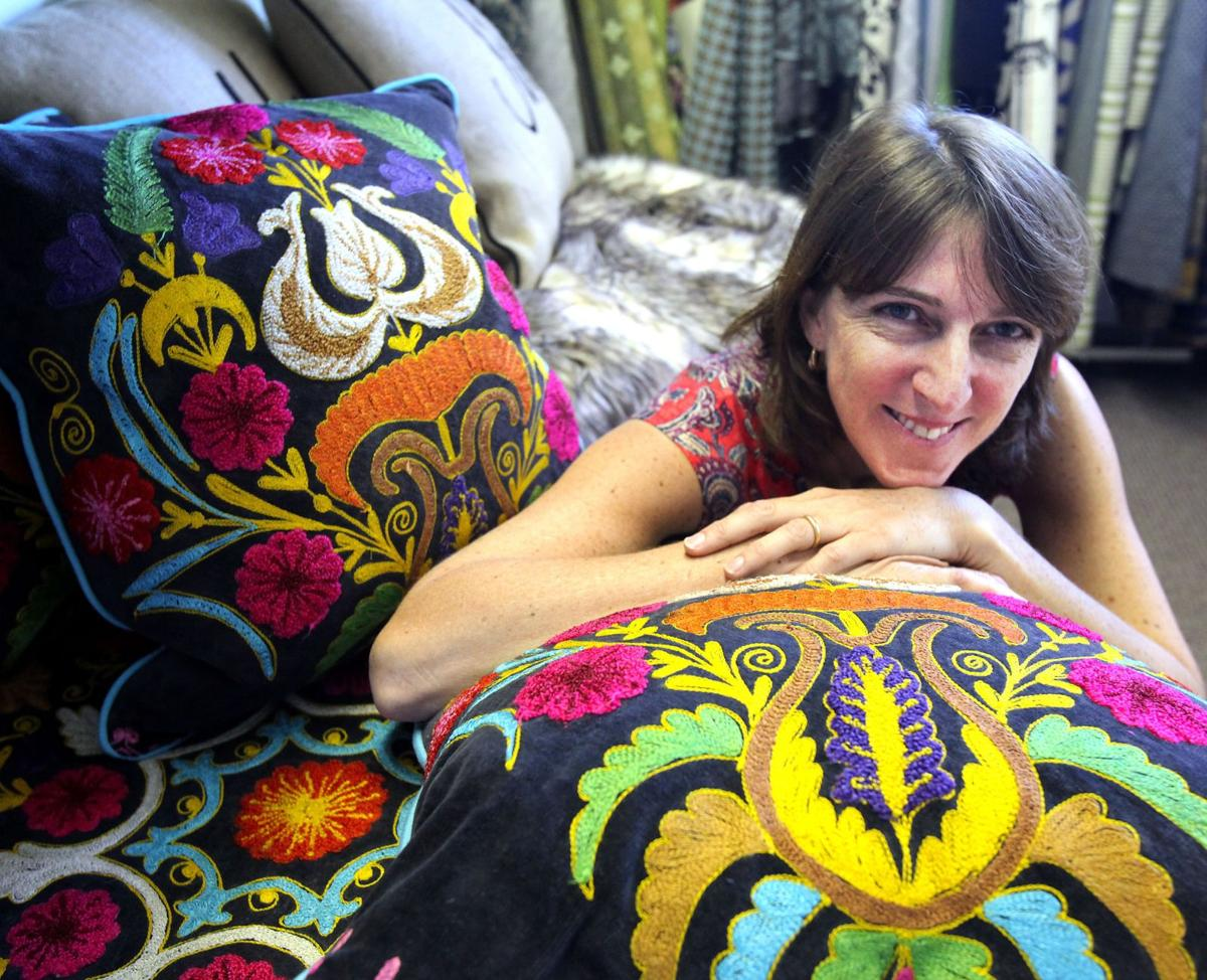 Mount Pleasant interior designer hopes for success with footrests