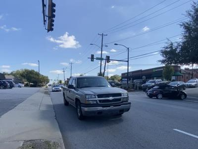 Augusta Street traffic