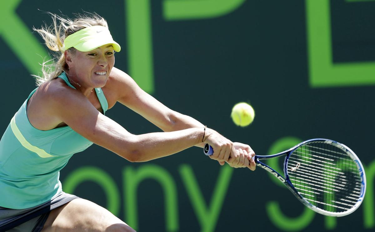 Sharapova faces Williams for crown at Key Biscayne