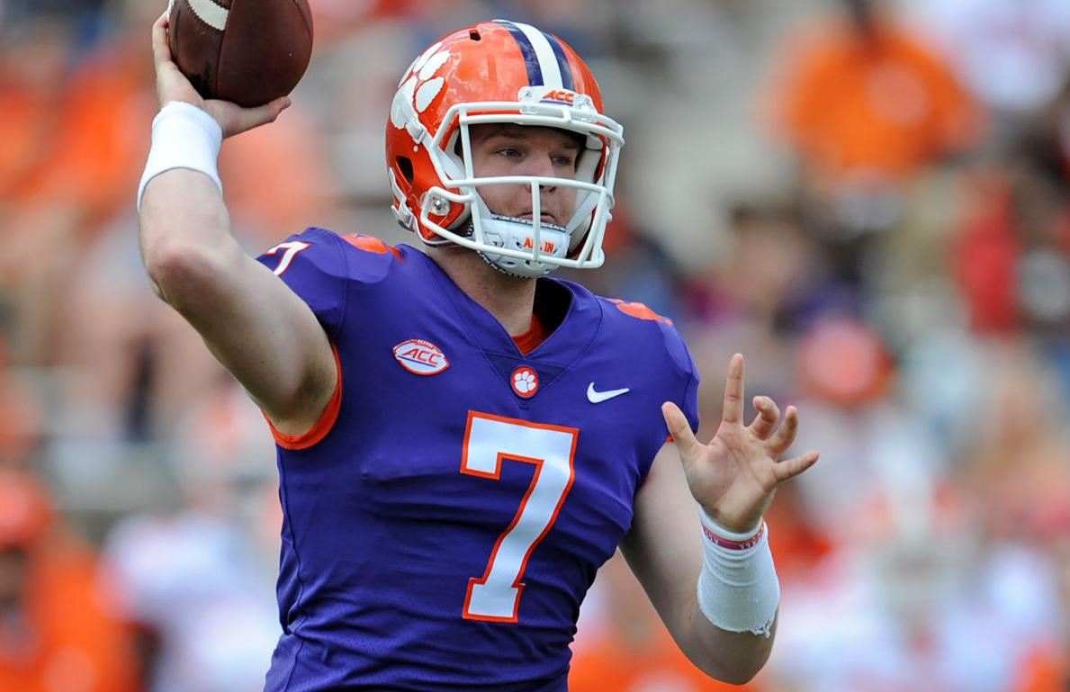 Chase at it Clemson Brice  with Sapakoff: can win all