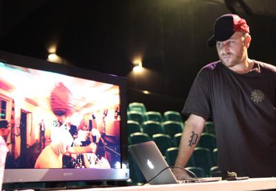 Local filmmaker offers silent movie that isn't