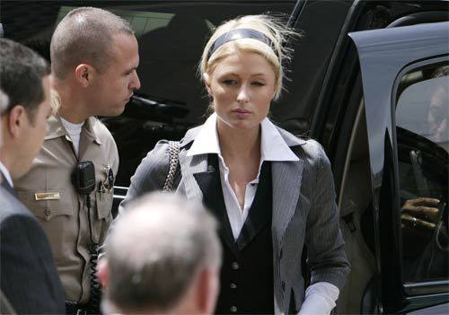Paris drops appeal, will serve her jail time