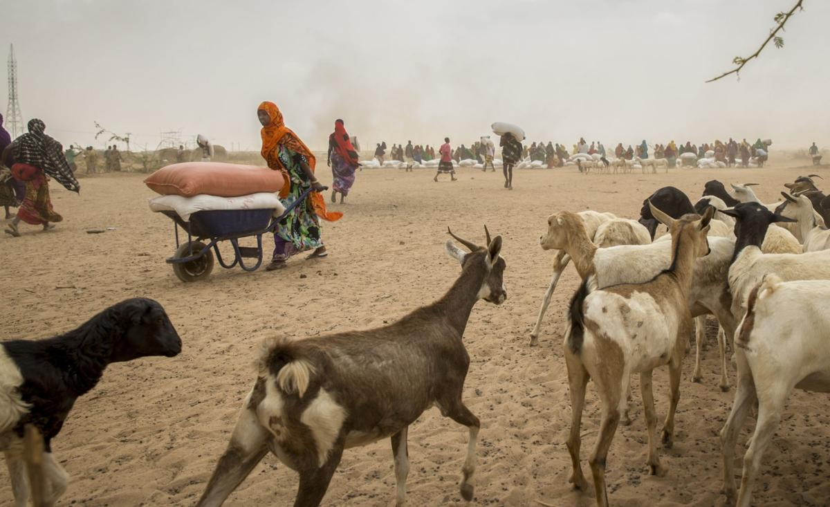Climate change fuels African upheaval