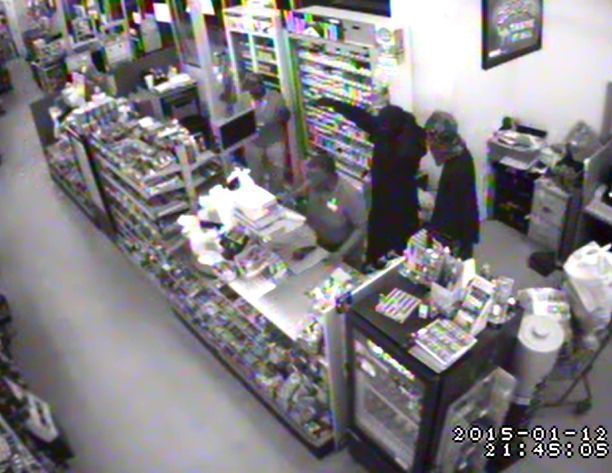 Surveillance images released from January armed robbery in Hollywood