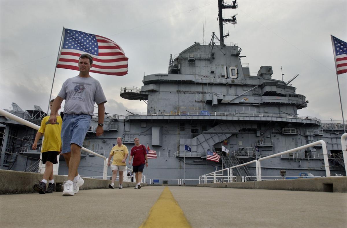 Ghost tours aboard Yorktown