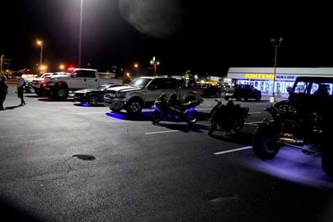 Camraderie, tricked-out rides light up cruise-in at North Charleston rims store