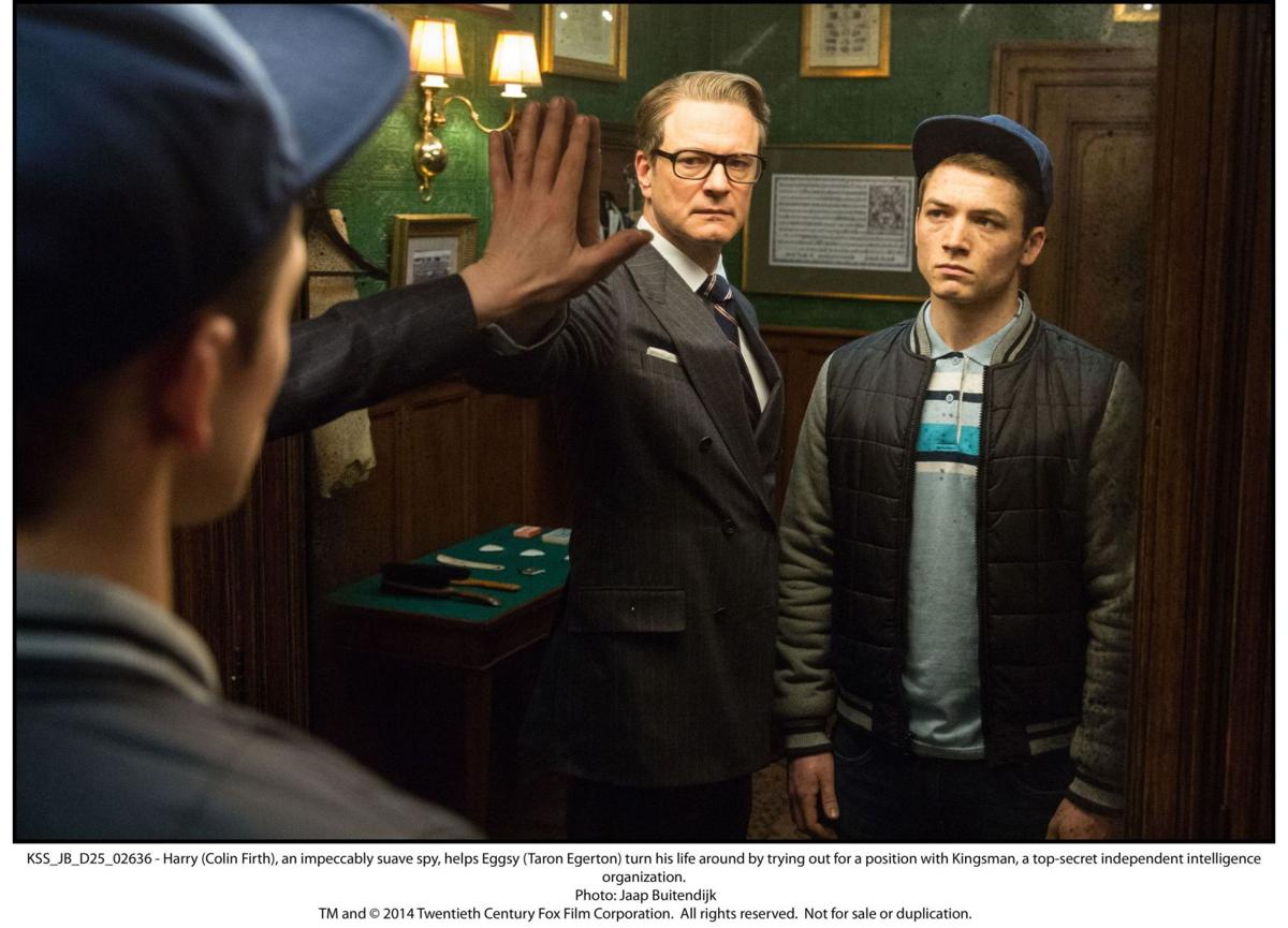 'Kingsman: The Secret Service' Film shakes up the traditional spy thriller, but not with great results