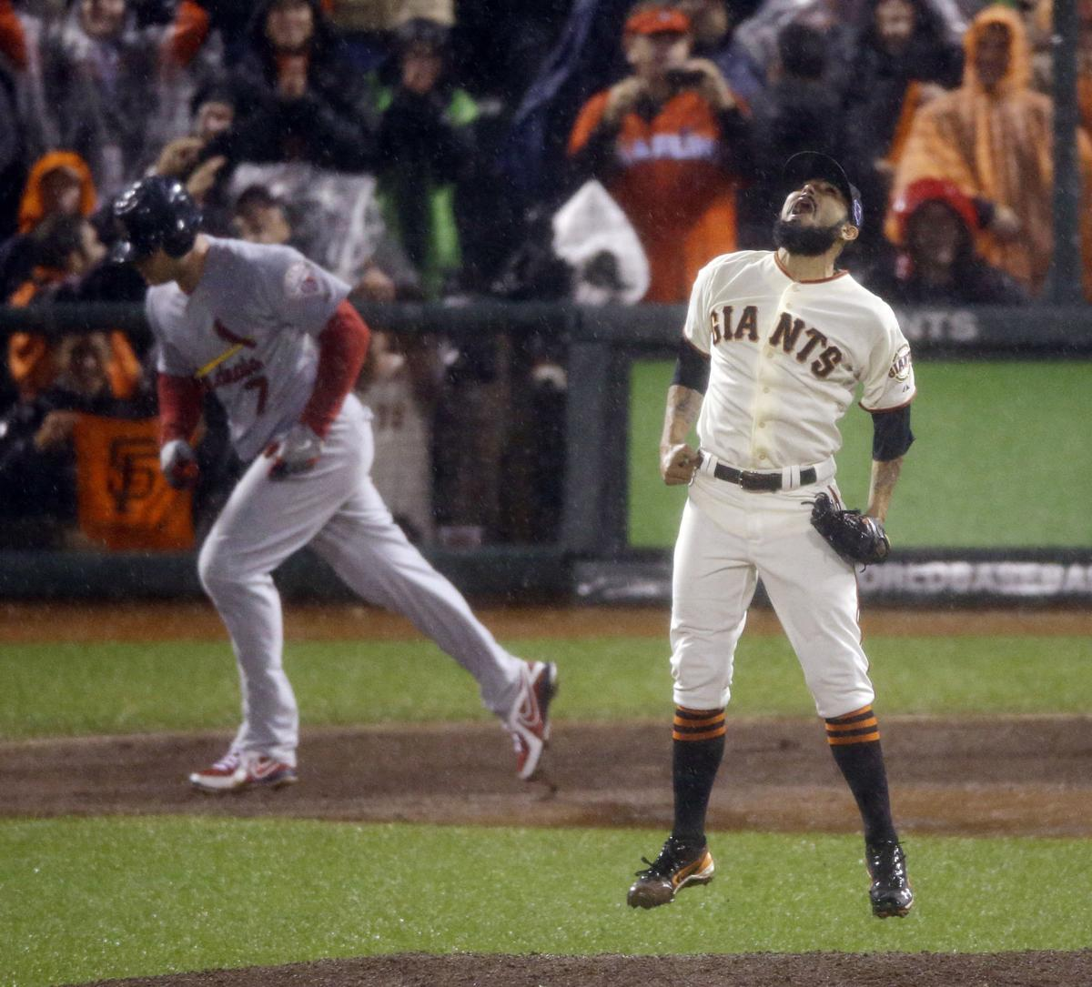 Giants finish off Cardinals in Game 7 rout