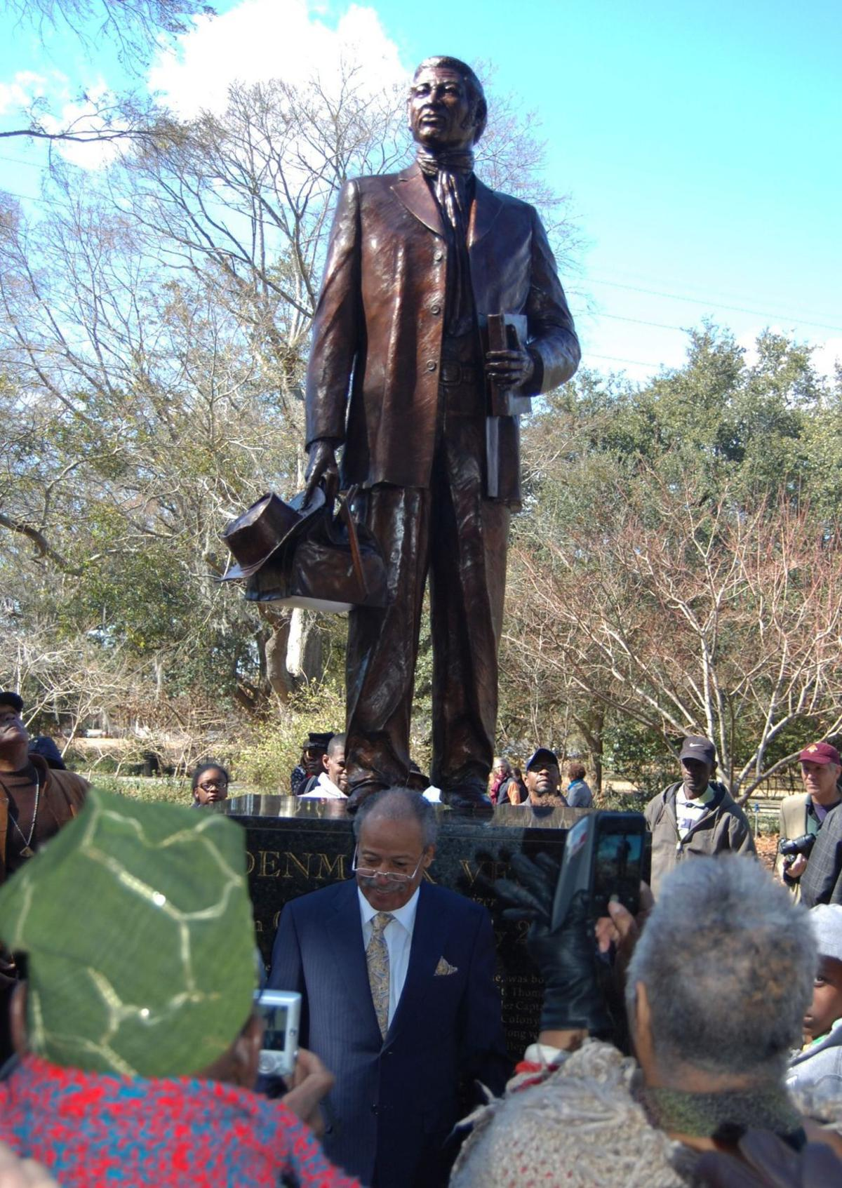 Denmark Vesey monument unveiled before hundreds
