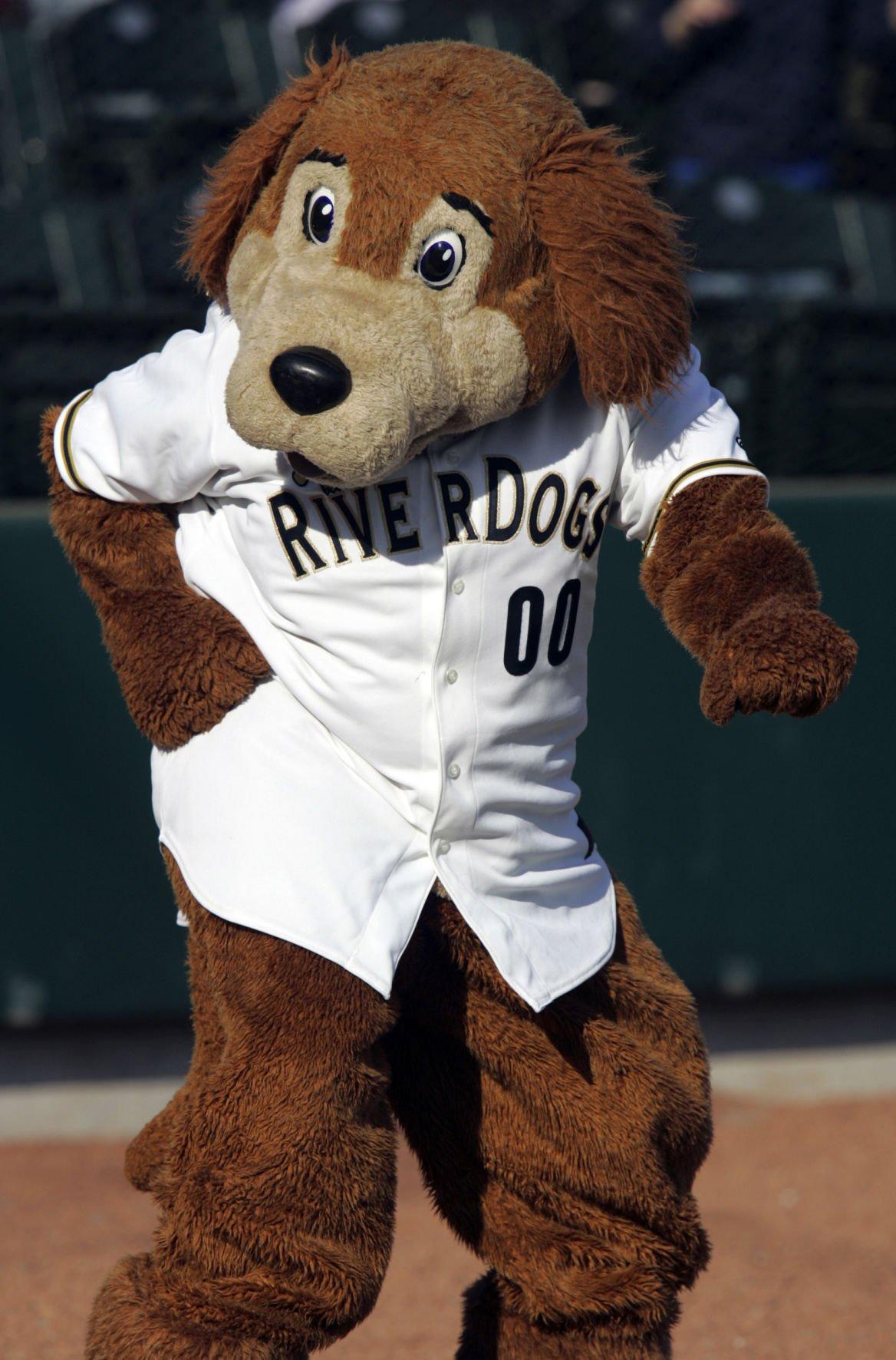 Charlie T. RiverDog taking part in Mascot Mania Tournament