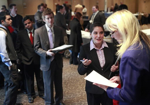 Job-seekers get unexpected lift