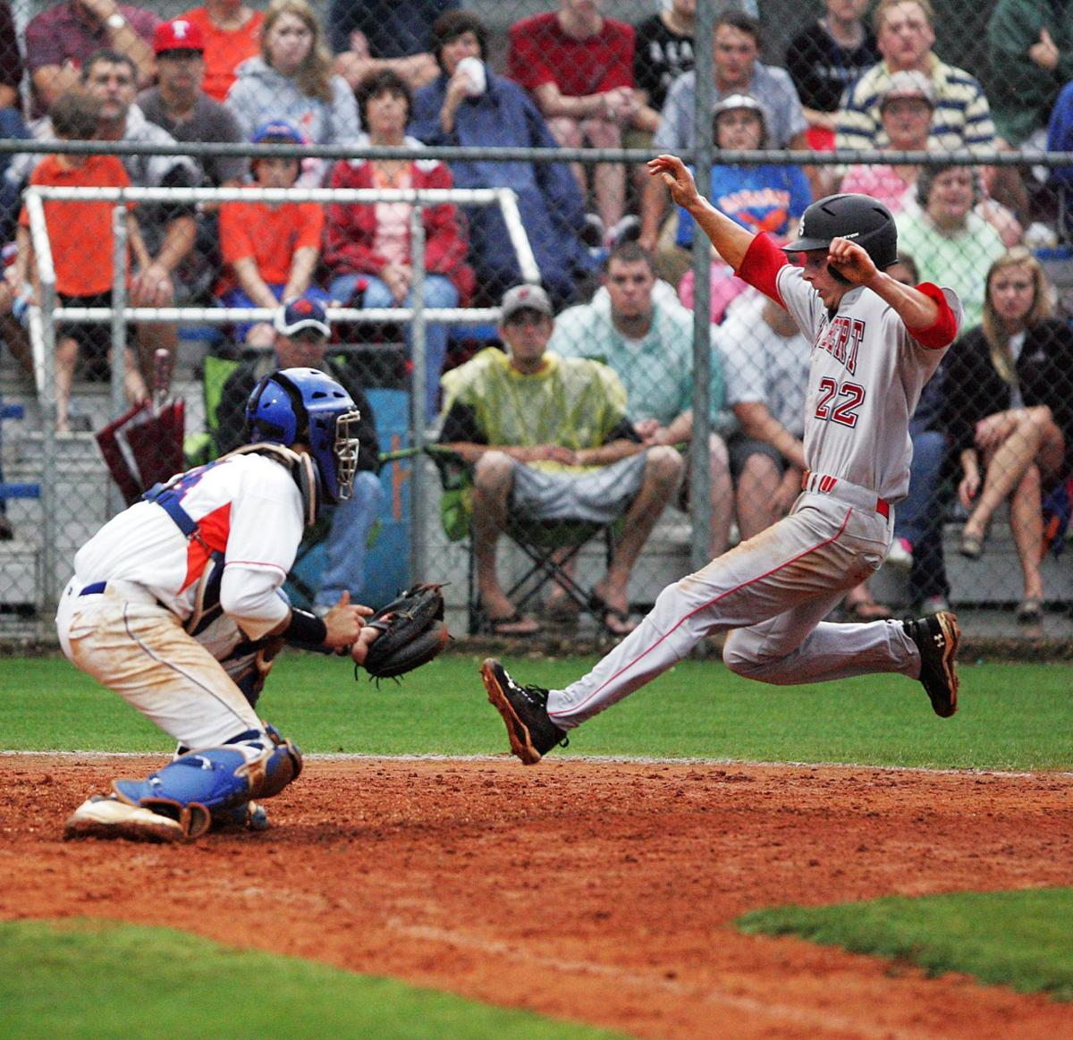 Gilbert plays longball to defeat Hanahan 8-3 in Game 1 of Class AA State Championship Series