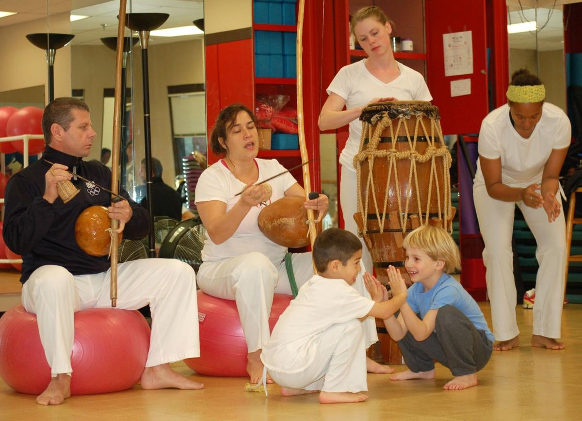 Kids' capoeira is sport and dance