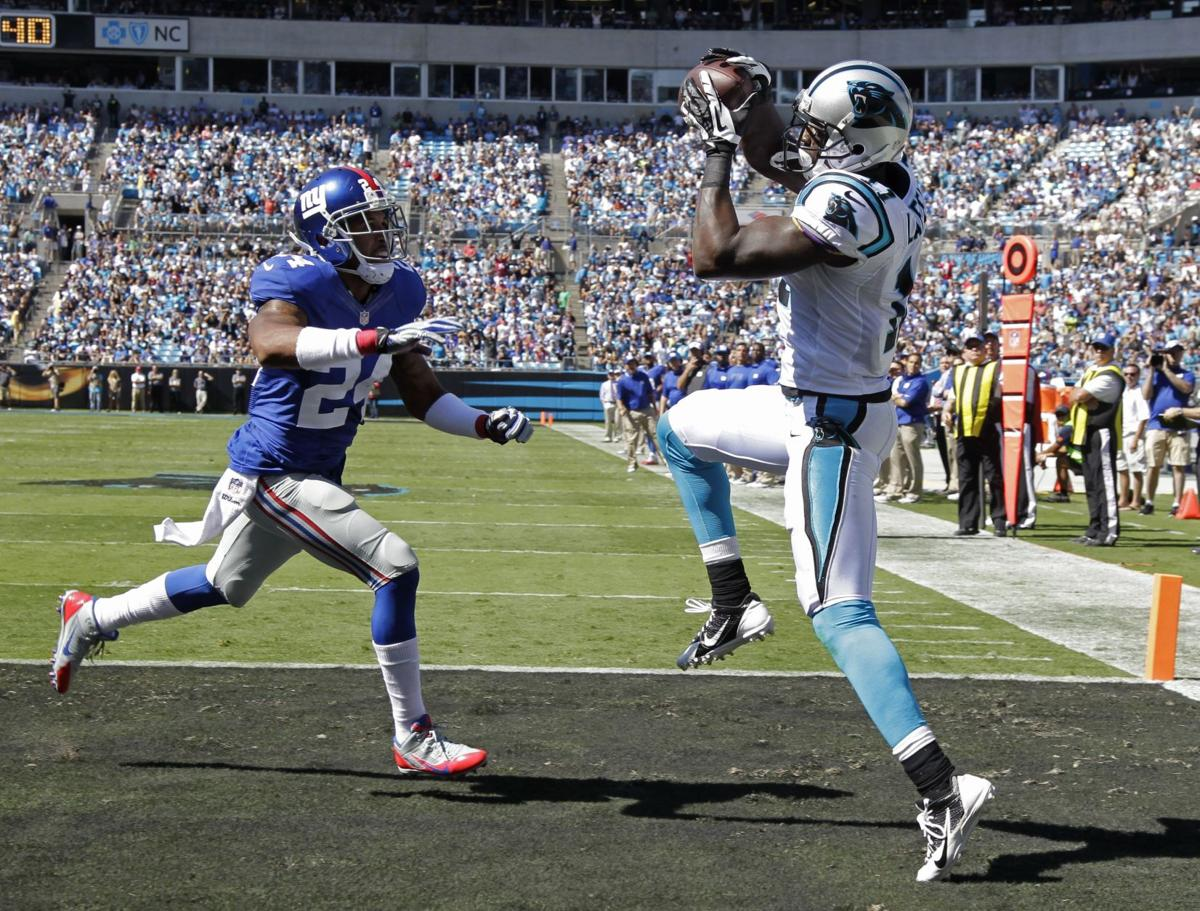 Cam Newton, defense lead Panthers to 38-0 blowout over the Giants