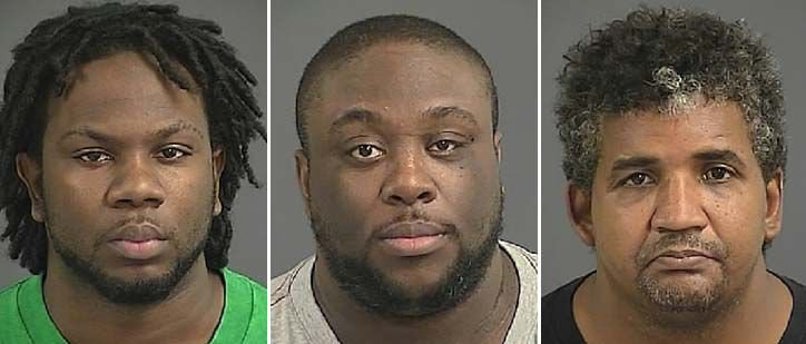 Search warrants, 3 arrested downtown