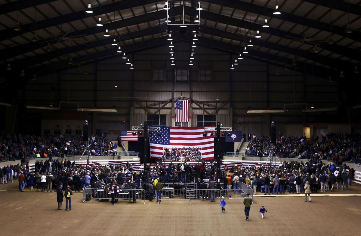 Trump rides New Hampshire primary wave, draws 4,000 to Clemson rally