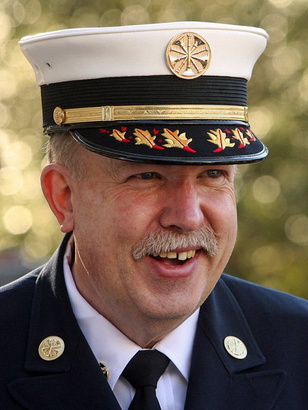 Charleston Fire Chief Carr hospitalized; retirement party postponed