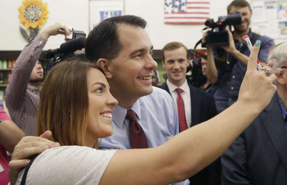 First TV ad backing Walker touts fight with unions