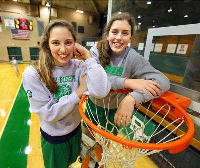 Bishops' dynamic duo top 1,000 points, seek another state crown