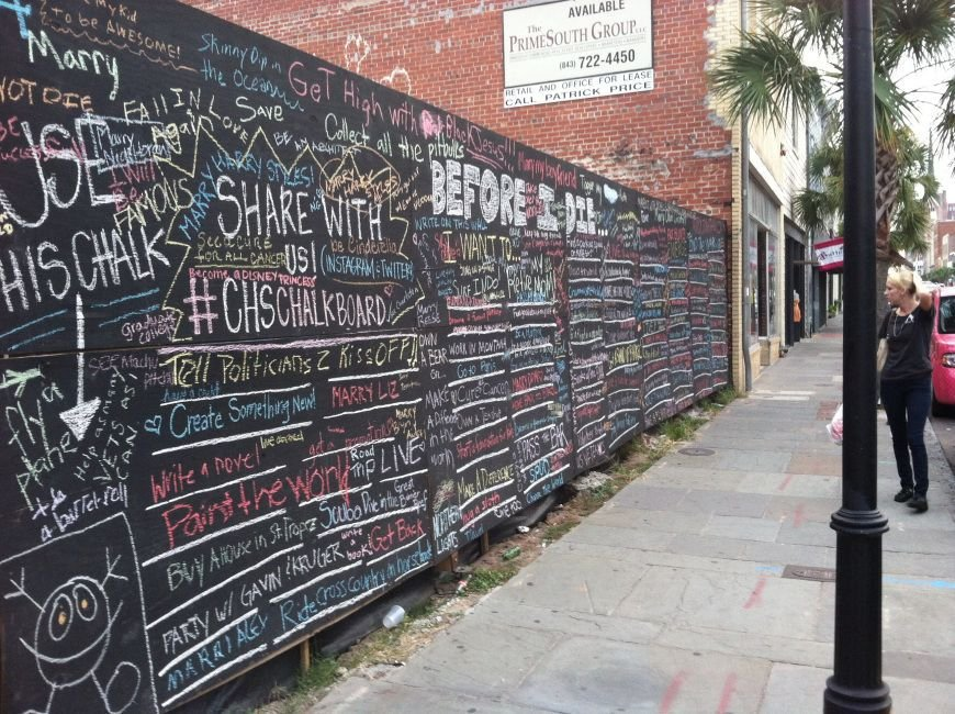 'Before I die I want to ...' class project turns into something more for two College of Charleston students