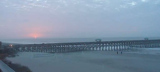 Partly sunny and around 75 today in Charleston