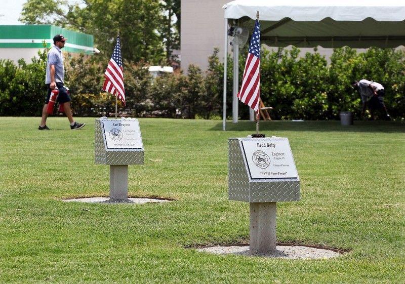 Ceremony Thursday for nine fallen Charleston firefighters