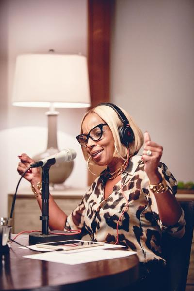 With radio show, Blige urges life with 'no more drama'
