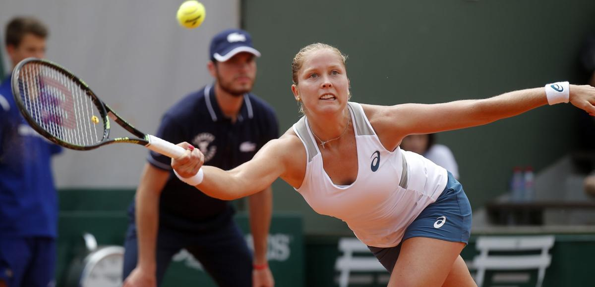 Round three of the French Open