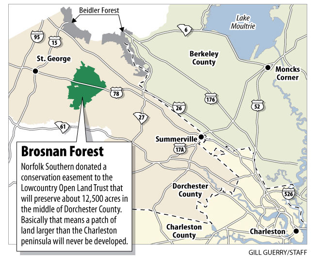 Gift will preserve 12,488 acres