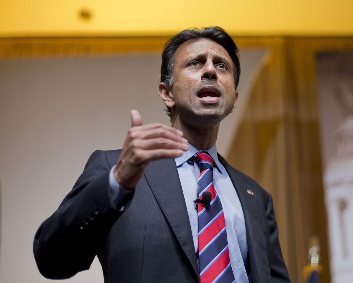 Jindal pegs Trump as squirrely, but nobody's listening