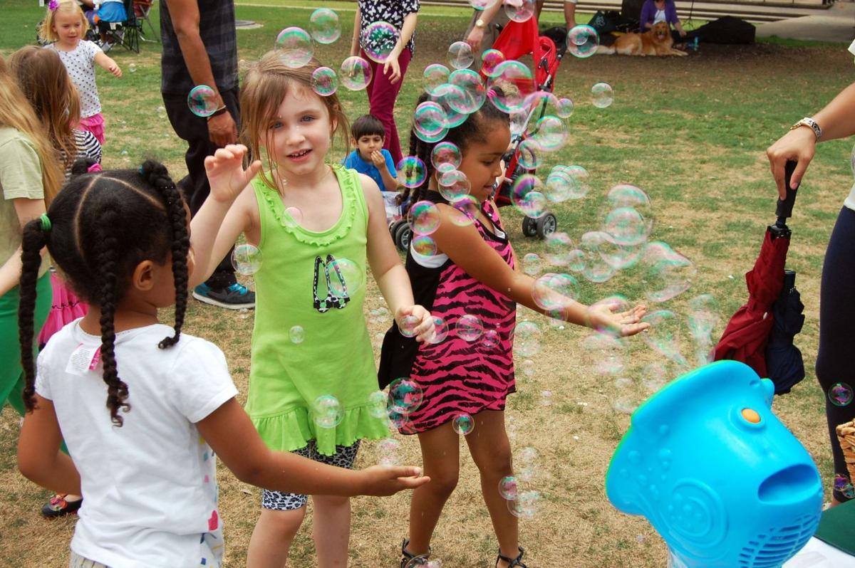 Charleston family festival encourages children to play outside