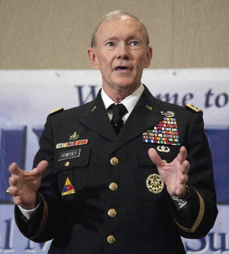 Obama chooses Dempsey to be next Joint Chiefs head