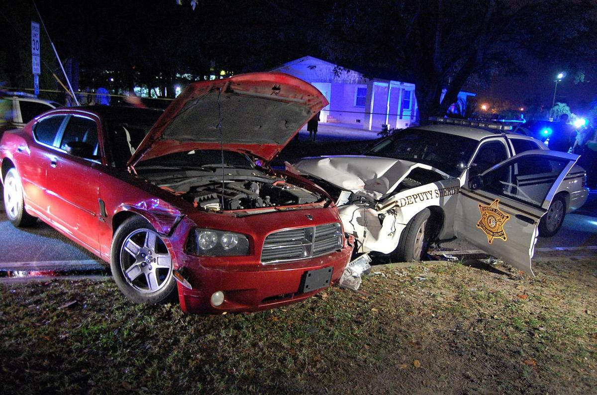 Wild chase arrest not driver's 1st