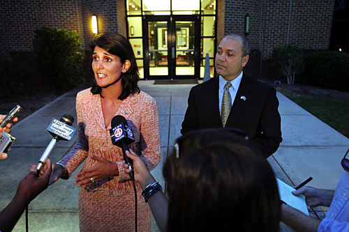 Haley denies 2nd claim of tryst