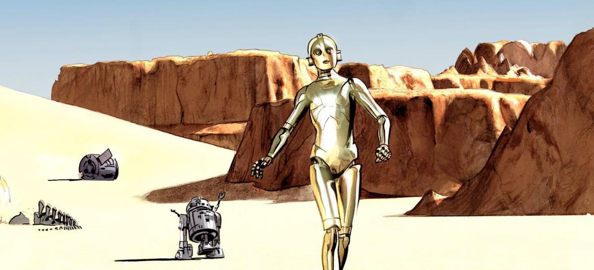 Dark Horse Comics brings 'The Star Wars' to life