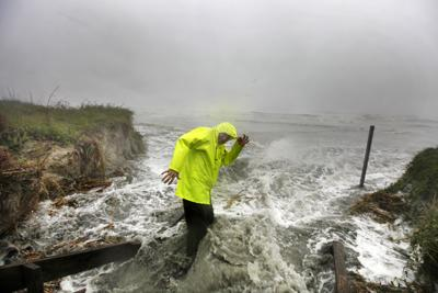 Hurricane Matthew Isle of Palms (copy)