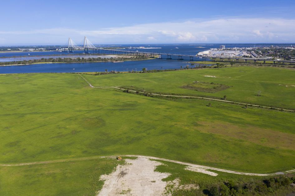On the thriving Charleston peninsula, a former landfill looks like prime real estate