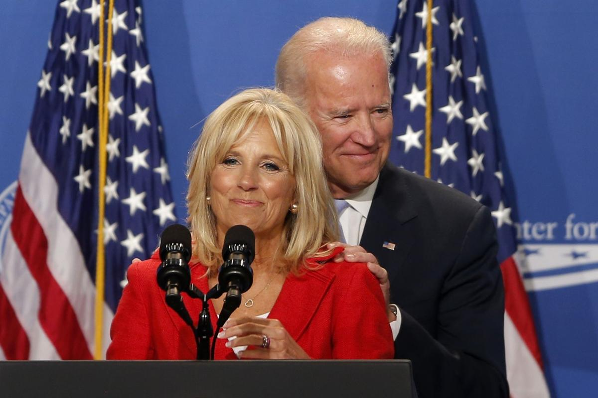 Biden's wife may share his misgivings about another race