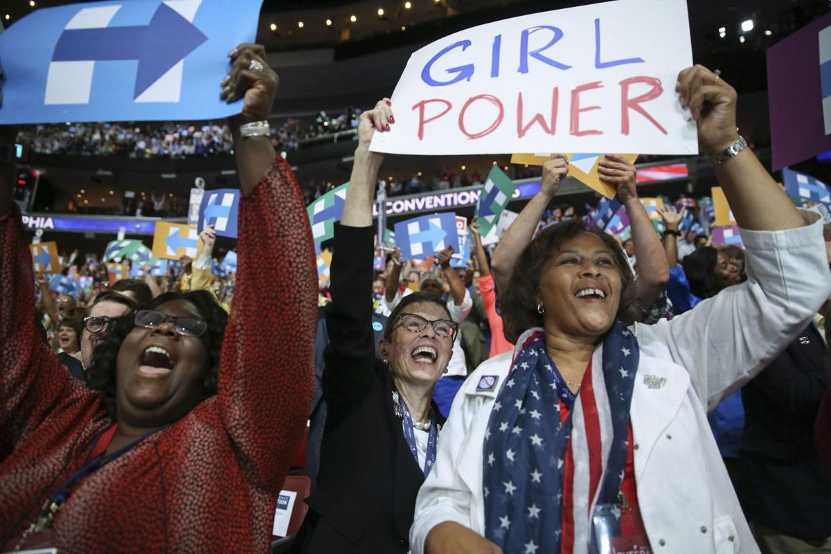 For one South Carolina woman, a 'girl power' sign 'meant everything'
