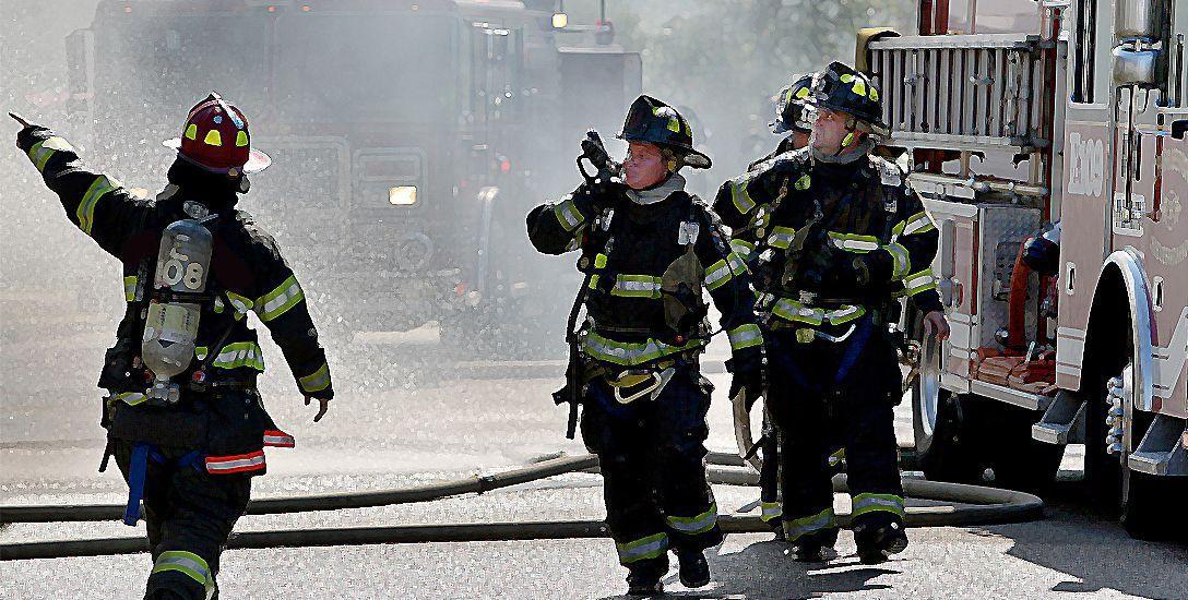Blaze damages James Island home