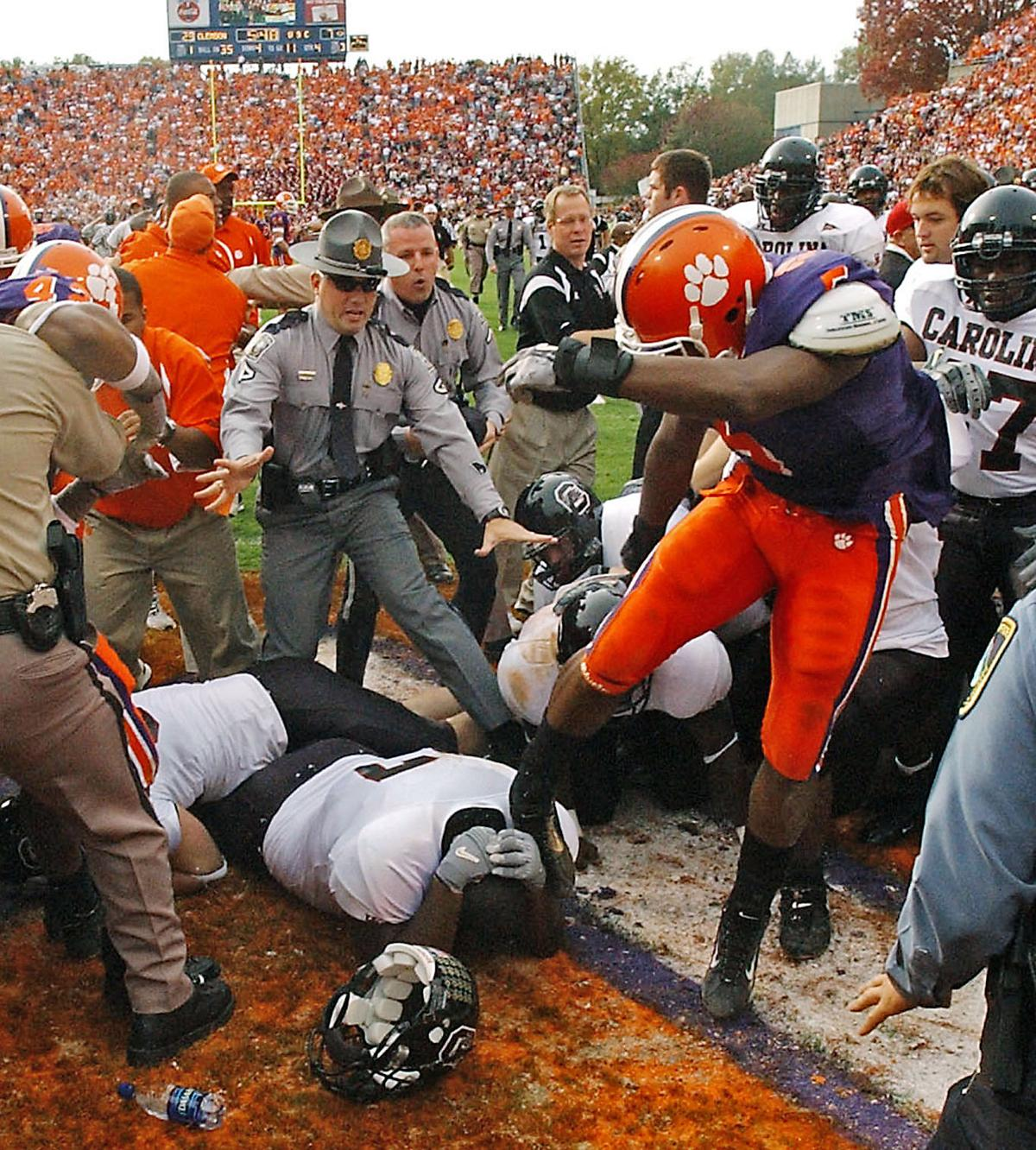 The 5 best moments and 5 worst moments in Carolina-Clemson ...