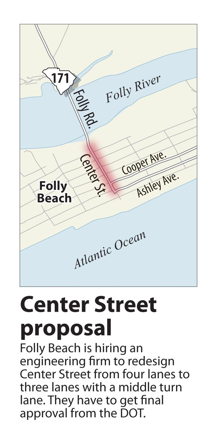 Folly Beach plans redesign of Center Street