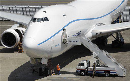 Boeing's profit surges; first S.C.-made 787 under way