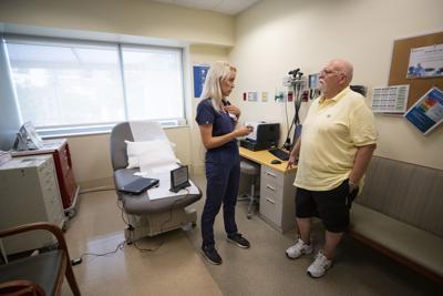 Melissa Lamicq and patient PRINT LEDE.JPG