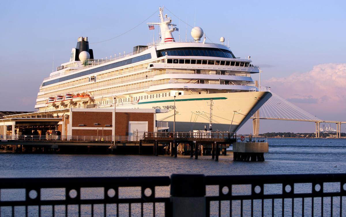 Cruise that began in LA, sailed through Panama Canal, to visit Charleston