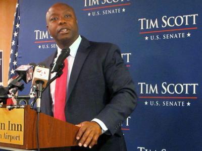 Robert L. Johnson praised Tim Scott for resolution encouraging minority hiring